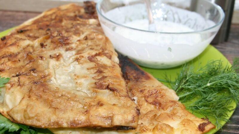 Чебуреки из лаваша с фаршем на сковороде или рецепт как сделать ленивые чебуреки